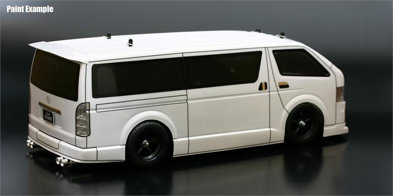 Toyota HIACE Clear Body Set ABC66084 Galaxy Hobby Gifts M