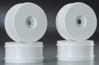 1/8 Buggy Wheels White (4)