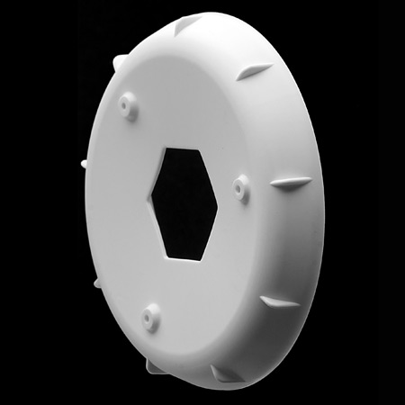 Wheel Stiffener: EVO Wheel, White