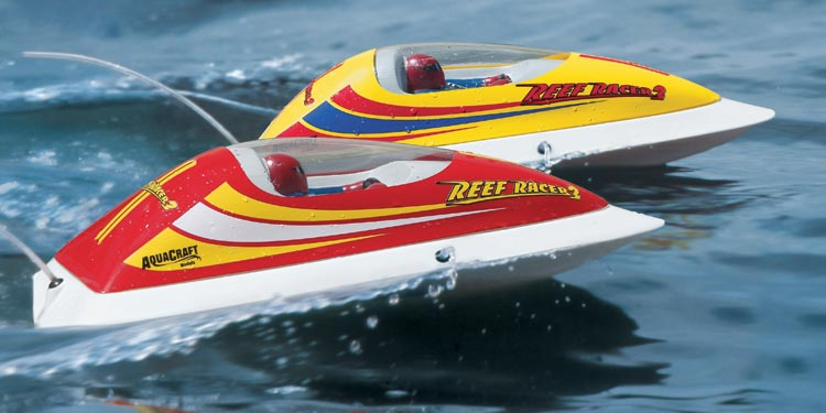 Reef Racer 2 RTR Boat Red A3