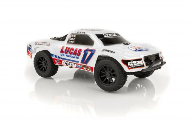 Associated 1/28 SC28 Lucas Oil RTR - Click Image to Close