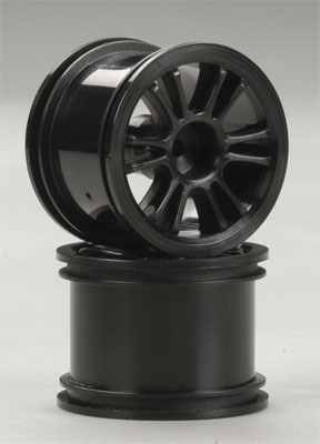 Rear Spoke Wheel Black 18B (2)