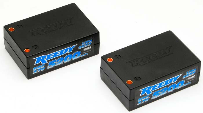 Associated Reedy LiPo 7.4V 5200mAh 60C Saddle Pack
