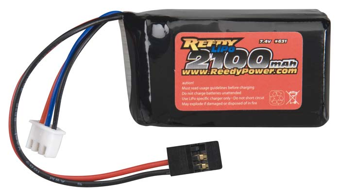 Reedy LiPo Rx Battery 7.4V 2100mAh