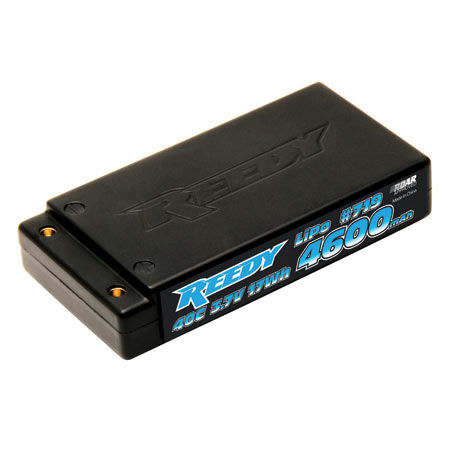 Reedy 4600mAh 3.7V 40C LiPo: 1/12 Vehicles