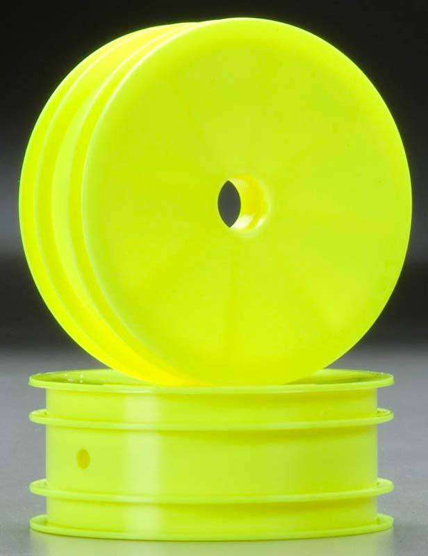Front Wheel Yellow RC10B4 (2)