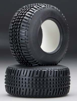 Associated Tire w/Foam Insert SC10 (2)