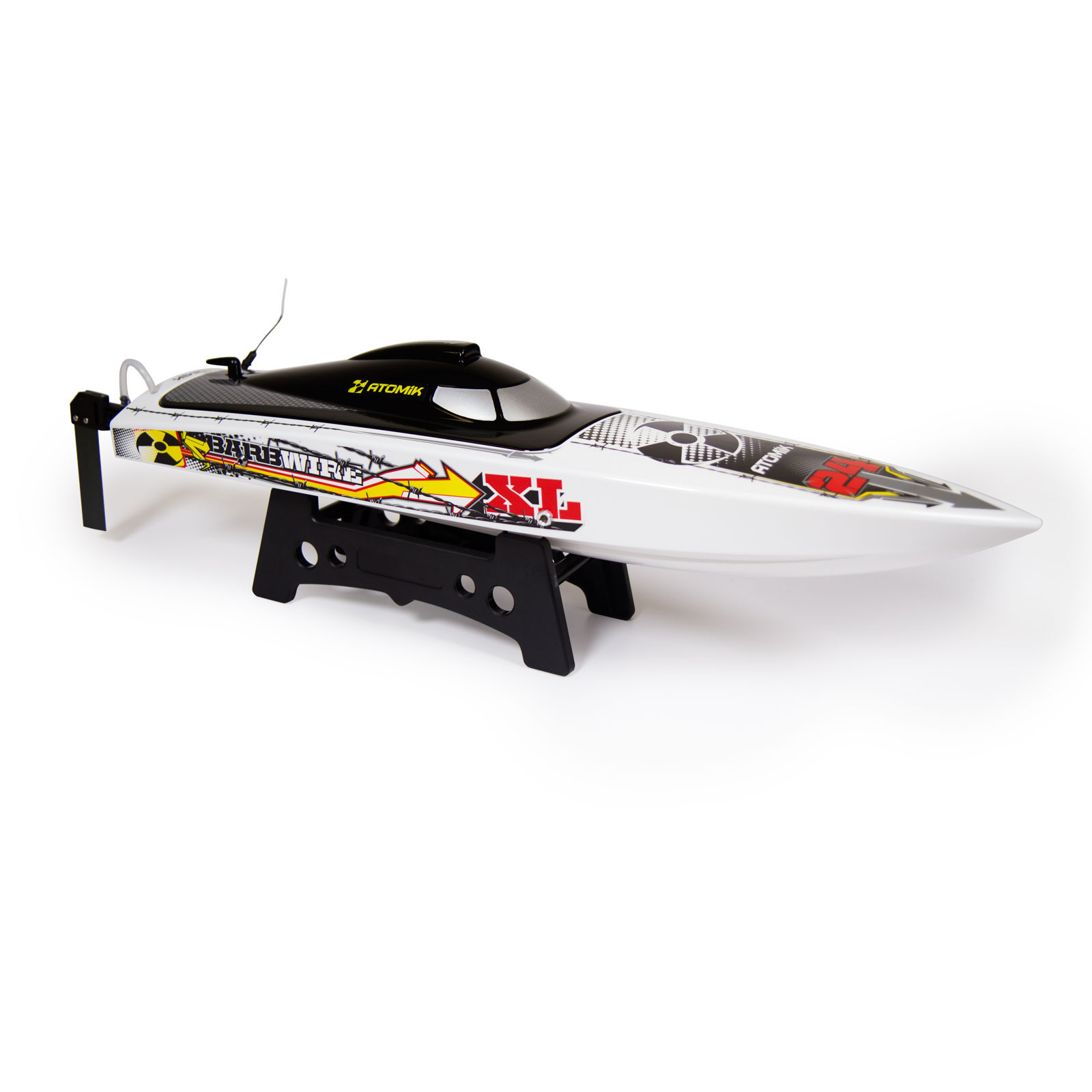 "Barbwire XL 24"" RTR Brushless RC Race Boat-Self Righting V Hull"