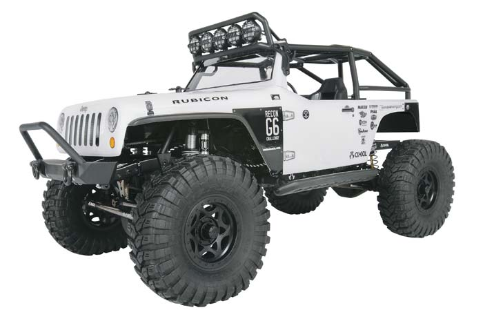 1/10 SCX10 Jeep Wrangler G6 4WD Kit