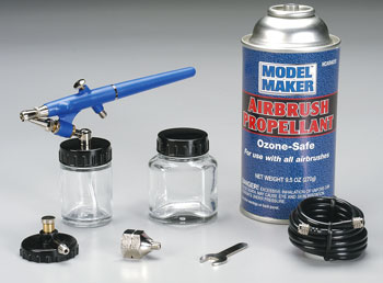 SA200P Single Action Airbrush w/Propel