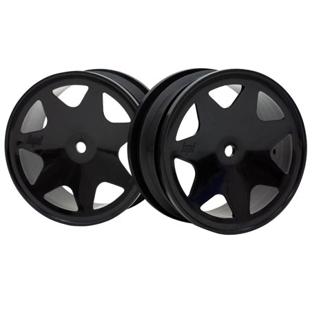 Ultra 7 Wheels, Black 30mm (2): Brama 10B