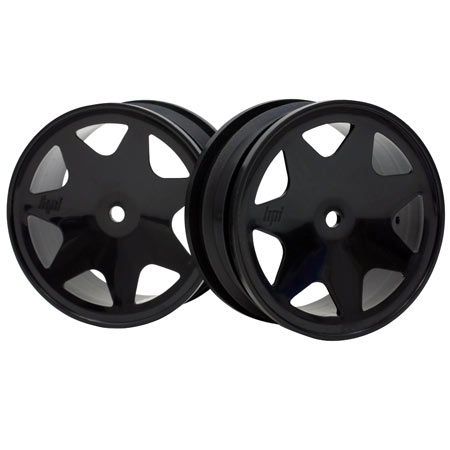 Ultra 7 Wheels, Black 35mm (2): Brama 10B