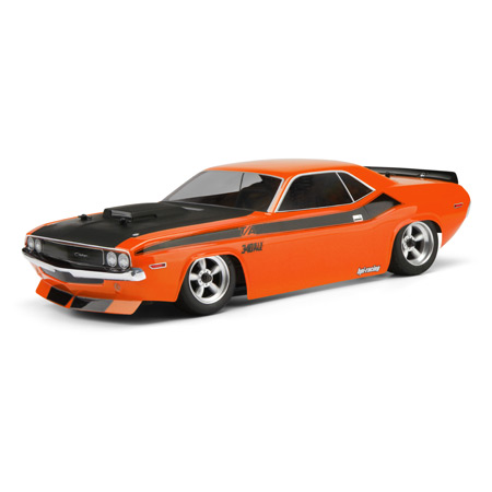 1970 Dodge Challenger 200mm Clear Body