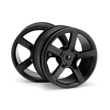 Five Axis R5-F, Black Wheel (2) (0mm Offset)
