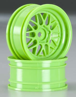 HRE C90 Wheel 26mm Green 6mm Offset (2)