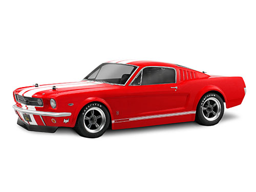 1966 Ford Mustang GT Body, Clear, 200mm