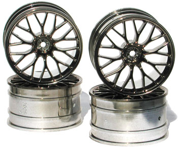 Mesh Wheels Super Size Gunmetal Chrome (4)