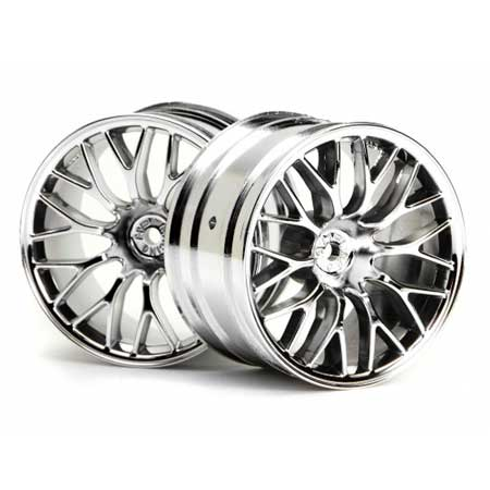 Mesh Wheels 2.2 Chrome SNRS4