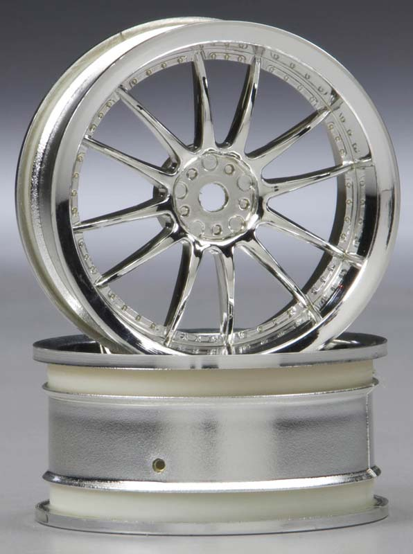 Work XSA Wheel 26mm Chrome (2) 3mm Offset