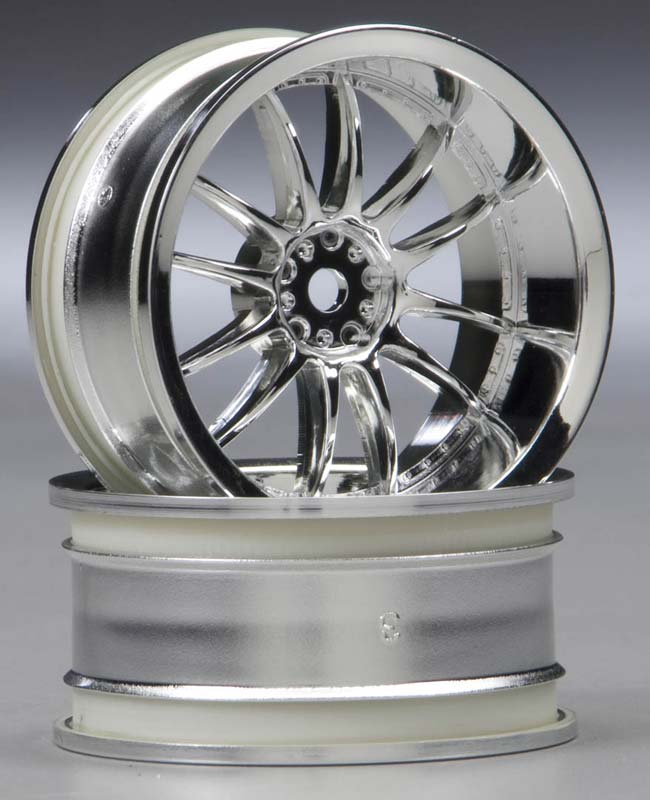 Work XSA Wheel 26mm Chrome (2) 6mm Offset