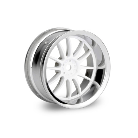 Work XSA Wheel 26mm White Chrome (2) 6mm Offset