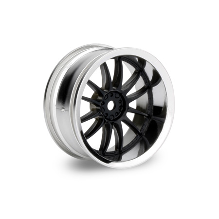Work XSA Wheel 26mm Black Chrome (2) 6mm Offset
