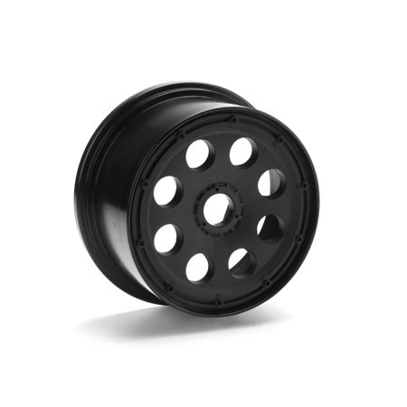 Outlaw Wheel, Black (2) 10mm Offset: Baja 5T