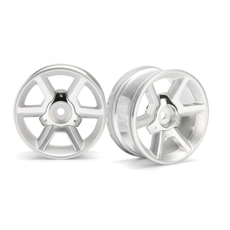 GT Wheel 6mm Offset Silver (2)