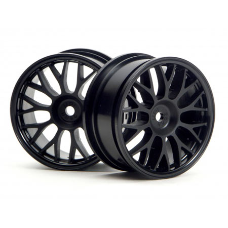 Mesh Touring Wheels 26mm Black