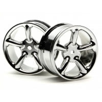 24mm Type R5 Wheel Chrome