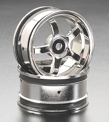 Deep Rim 5-Spk Wheel 26mm Chrome (2)