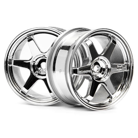 TE37 Wheel 26mm Chrome 0mm Offset