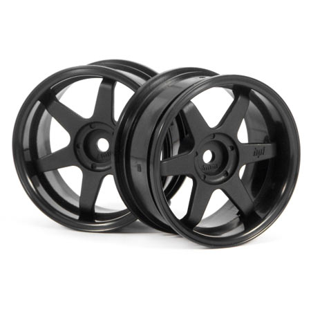TE37 Wheel 26mm Black 6mm Offset