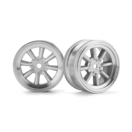 MX60 8-Spoke Wheel Matte Chrome (2) 0mm Offset