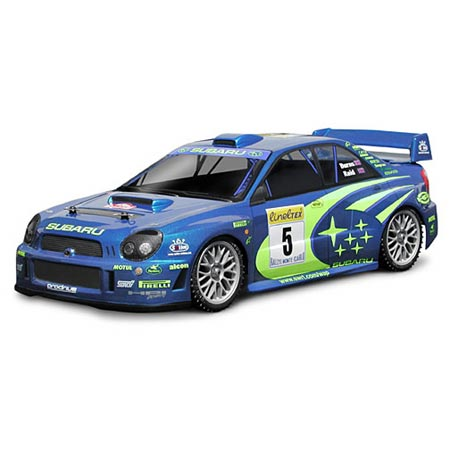 Impreza WRC 2001 Body, Clear, 200mm