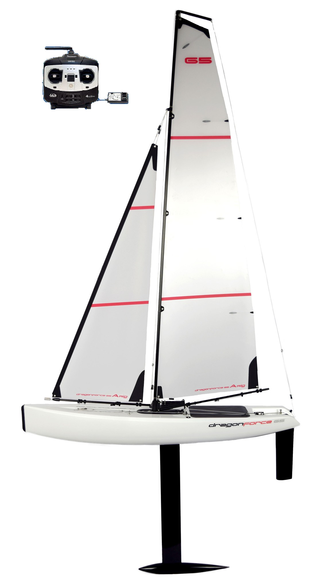 DragonForce 65 2017 Ver. 6 650mm DF65 Class RC Sailboat