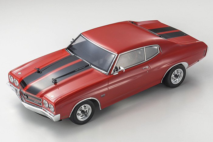 Fazer Chevelle SS 454 1970 Red - Click Image to Close