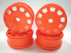 Wheel (4pcs/F-Orange/MP9)