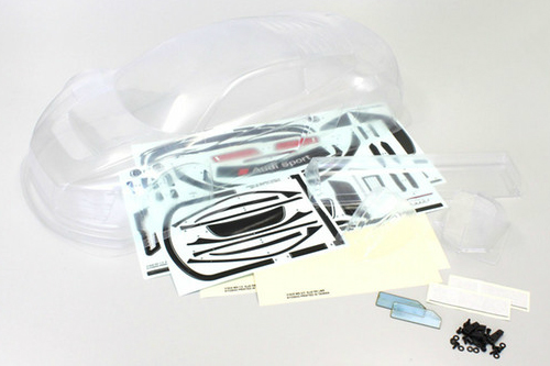 Audi R8 LMS Body Set Clear