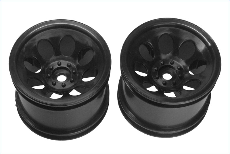 Wheel (Black/2pcs/DBX/DST)