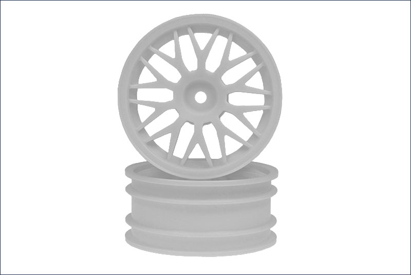Narrow Wheel (56/MESH) White