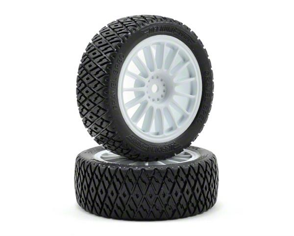 FF/RR Gravel Spec Tire Mntd: Rally