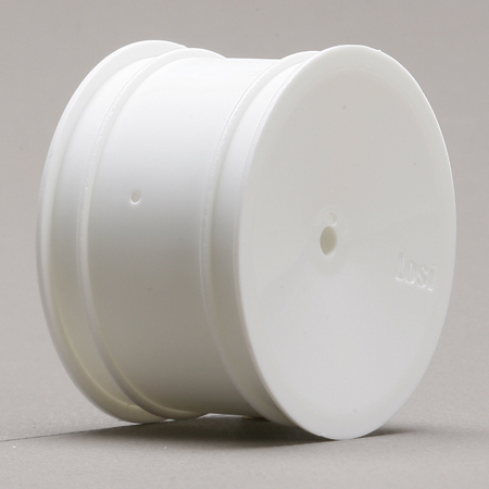 Rear Wheel, White (2): XXX, XX, XX4