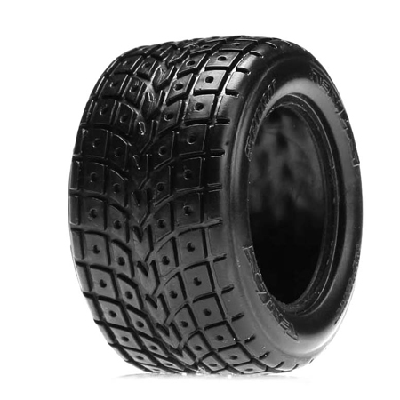 Front/Rear Tires w/Foam, Street Meat Tread: Mini-T by Losi