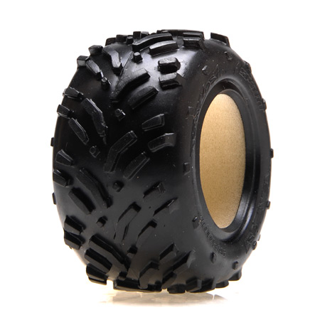 Front/Rear Tires w/Foam, Mini-Smasher (2): Mini-T