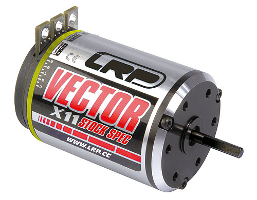 Vector X-11 Stock Spec 17.5 turn brushless motor