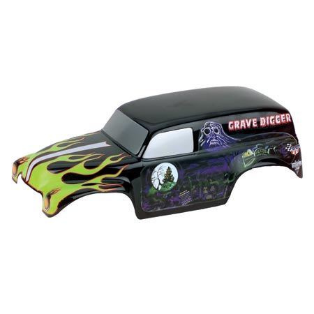 Grave Digger #12 Body, Painted