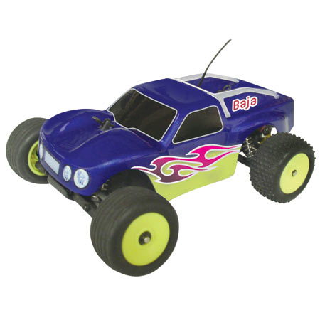 Baja Truck Body, Clear: Micro-T