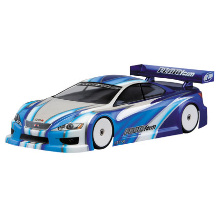 LTCR Touring Car Lightweight Clear Body, 190mm
