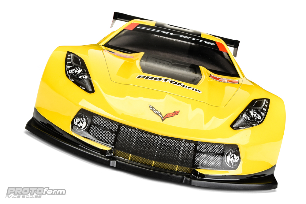 Chevrolet Corvette C7.R Clear 190mm Body
